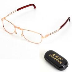 Melipat Lipat Velg Lipat Kacamata Baca Kompak dengan Kasus + 2.5-Internasional