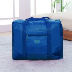 Foldable Travel Bag / Foldable Luggage / Koper Lipat - Dark Blue