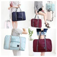 Foldable Travel Bag / Hand Carry Tas Lipat / Koper Bagasi Organizer - Random