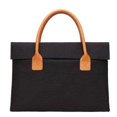 FOPATI Merek Portable KUMON Brefcase Laptop Case 15 ~ 15.6 Inch Tas Laptop Notebook Sleeve Bag untuk Lenovo Dell Asus ACER MacBook Pro 15 ''Ultrabook Carrying Case Handbag Pria WomenF-Intl