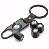 Harga Untuk Bmw E90 E91 E92 E93 Aksesoris Mobil Roda Ban Valve Caps Dengan Gesper Kulit Gantungan Kunci Internasional Satu Set