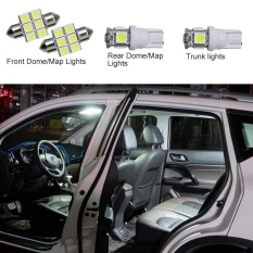 For Honda Ciimo City Civic 2012 Convenience Bulbs Car Led Interior Light C10W W5W Replacement Bulbs Dome Map Lamp Light Bright White 4 Pcs Per Set Intl Asli