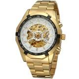Harga Forsining 3665 2017 Pemenang Watch Mewah Sport Designer Gold Skeleton Mechanical Watch Pria Clock Stainless Jam Tangan Blaus Masculino Pria Intl Original