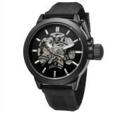 Forsining Forsining 85 2017 Baru Fashion Forsining Watch Pria Skeleton Merek Mewah Jam Tangan Mekanis Otomatis Sport Big Crown Model Pria Clock Intl Original