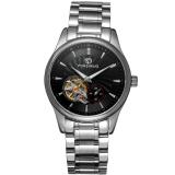 Spesifikasi Forsining Men Mechanical Otomatis Dress Watch Dengan Kotak Hadiah Fsg9406M4S2 Hitam
