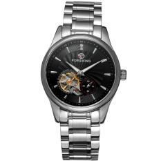 Ulasan Mengenai Forsining Men Mechanical Otomatis Dress Watch Dengan Kotak Hadiah Fsg9406M4S2 Hitam