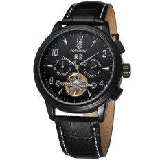 Obral Forsining Otomatis Pria Militer Tourbillon Wrist Watch Fsg16577M3B3 Intl Murah