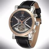 Katalog Forsining Stainless Steel Case Leather Strap Men Male Fashion Business Sport Casual Army Military Skeleton Automatic Mechanical Wrist Watch Gift Wristwatches Intl Forsining Terbaru