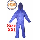 Diskon Fortune Jas Hujan Stelan Jaket Celana Parasut Taslan Bahan Seperti Jas Hujan Axio Biru Xxl Branded