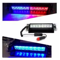 Spesifikasi Fortuna Strobo Led Mobil Multicolor Biru Merah Online