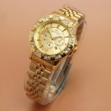 Jual Fortuner Analog Jam Tangan Wanita Stainless Steel Gold Branded