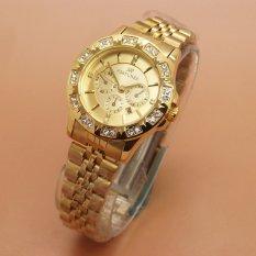Spesifikasi Fortuner Analog Jam Tangan Wanita Stainless Steel Gold Dan Harganya