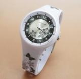 Beli Fortuner Bunga Fr J1045 White Jam Tangan Anak Karet Secara Angsuran