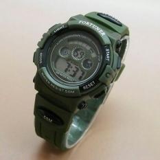 Harga Fortuner Digital Jam Tangan Anak Laki Laki Rubber Strap Fr1600 Green Terbaik