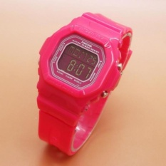 Jual Fortuner Digital Original Jam Tangan Sport Wanita Rubber Strap Fr P1600 Fortuner Asli