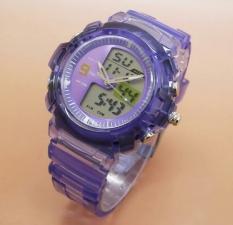 Toko Fortuner Dual Time Fr J 509Ad Jam Tangan Sport Wanita Rubber Strap Violet Fortuner Online