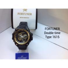 Fortuner Dual Time - Jam Tangan Pria - Rubber Strap - FR 1616 - TERBARUIDR180500. Rp 180.500