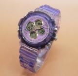 Jual Fortuner Fr J 540Ad Jam Tangan Sport Wanita Rubber Strap Purple Murah