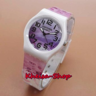 Hello Kitty Badge Girl Watch Leather Strap PinkTua. Source · Fortuner FR .