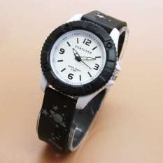Harga Fortuner Fr J1525 Black White Jam Tangan Anak Karet