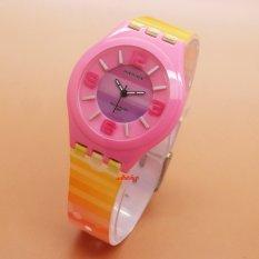 Beli Fortuner Fr Ja 878 Pink Yellow Jam Tangan Anak Karet Online