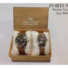 Spesifikasi Fortuner Jam Tangan Couple Stainless Steel Tanggal Ft0001 A Mr Combi Rosegold Yg Baik