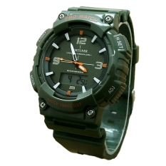 Fortuner Jam Tangan Pria  – Dual Time - Rubber Strap – FR 893 Army