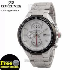 Fortuner Jam Tangan Pria - Strap Stainless Steel - FT-5503-BTH
