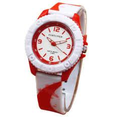 Beli Fortuner Jam Tangan Wanita Rubber Strap Fr 876Rny Putih Baru