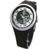 Spesifikasi Fortuner Jam Tangan Wanita Rubber Strap Fr846Ny Hitam Baru