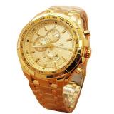 Cara Beli Fortuner Jam Tangan Wanita Staibless Steel Gold Fr K410 Gold