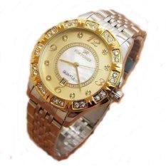 Spesifikasi Fortuner Jam Tangan Wanita Stainless Fr K1216A Silver Gold Baru