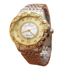 Review Pada Fortuner Jam Tangan Wanita Stainless Steel Fr 1329 Gold