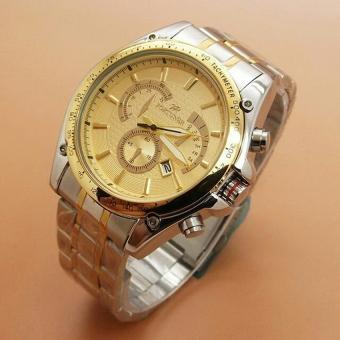 Fortuner - Jam Tangan Wanita - Stainless Steel - FR K3096 Gold Combi