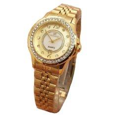 Beli Fortuner Jam Tangan Wanita Stainless Steel Rosegold Fr K8107L Gold Dengan Kartu Kredit