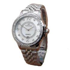 Harga Fortuner Jam Tangan Wanita Strap Stainless Steel Silver Fr 1808 S Original