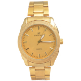 Spesifikasi Fortuner Men S Ft092Mfg Jam Tangan Pria Gold Stainless Steel Lengkap
