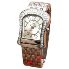 Spesifikasi Fortuner S1391 Jam Tangan Wanita Strap Stainless Steel Silver Paling Bagus