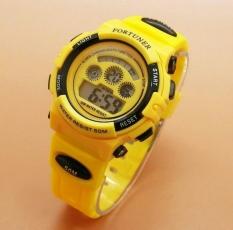 Diskon Fortuner Sport Digital Fr 1600 Yellow Jam Tangan Wanita Karet