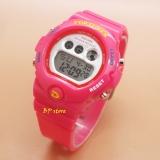 Jual Fortuner Sport Digital Fr 1619 Pink Jam Tangan Wanita Karet
