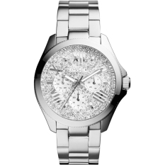 Iklan Fossil Cecile Crystal Multifunction Silver Stainless Steel Fossil Am4601