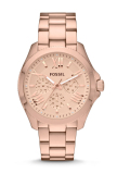 Diskon Fossil Cecile Ladies Am4511 Rose Gold Fossil Di Indonesia