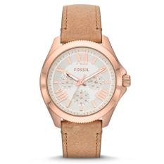 Harga Fossil Cecile Ladies Am4532 Rose Gold Sand Leather Terbaik