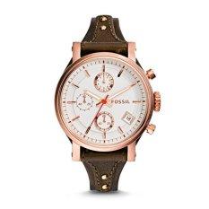 Berapa Harga Fossil Es3616 Jam Tangan Wanita Original Boyfriend Chronograph Raisin Leather Watch Di Indonesia