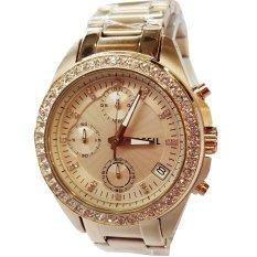 Jual Fossil Fs2683 Jam Tangan Wanita St Chronograph Tanggal St Rose Gold Di Bawah Harga