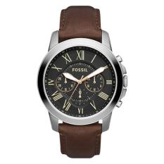 Fossil Fs4813 Jam Tangan Pria Leather Strap Brown Di Indonesia