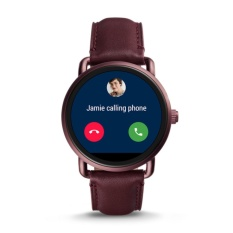 Harga Fossil Gen 2 Smartwatch Ftw2113 Q Wander Wine Leather Di Indonesia