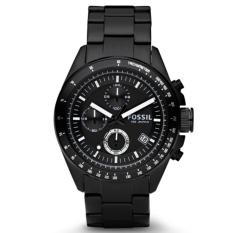 Daftar Harga Fossil Jam Tangan Pria Fossil Ch2601 Decker Chronograph Black Stainless Steel Watch Fossil