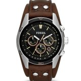 Promo Toko Fossil Jam Tangan Pria Fossil Ch2891 Coachman Chronograph Brown Leather Watch