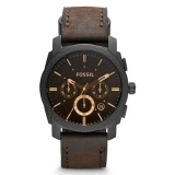 Beli Fossil Jam Tangan Pria Fossil Fs4656 Machine Flight Chronograph Brown Dial Men S Watch Kredit